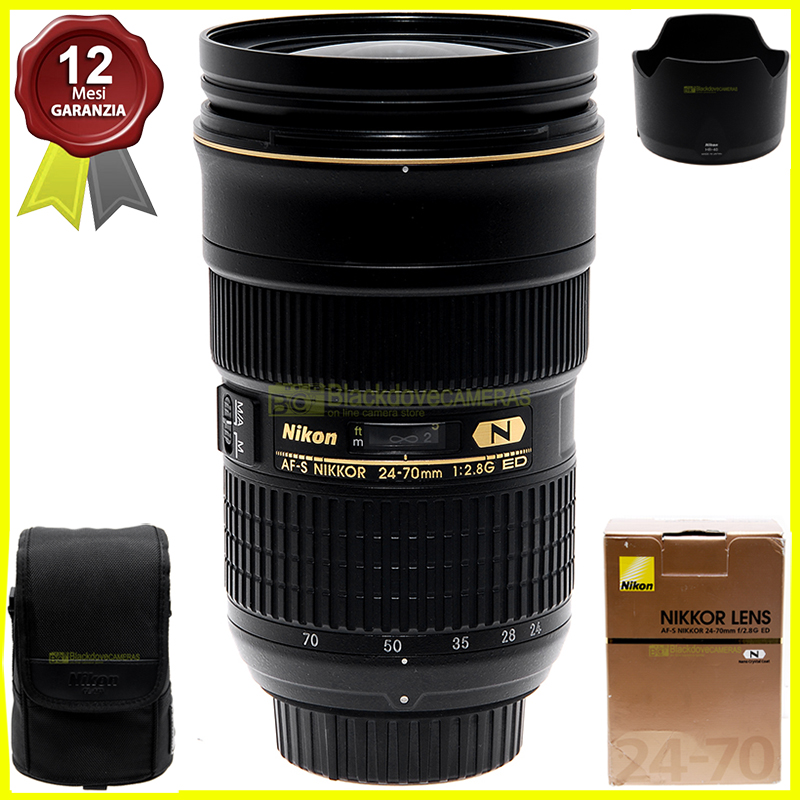 Nikon AF-S Nikkor 24/70mm. f2,8 G ED N