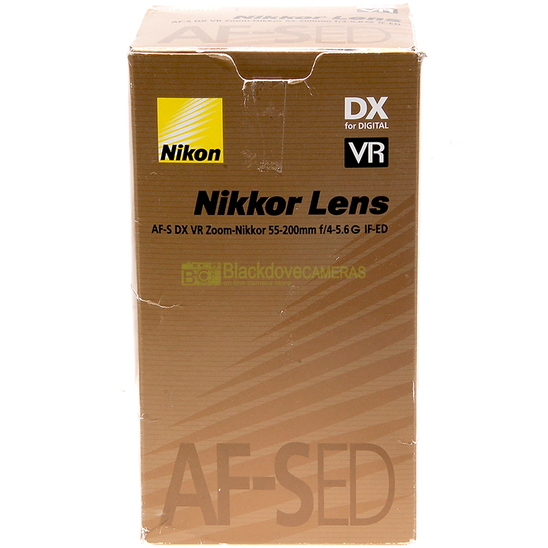 Nikon AF-S 55-200mm f/4-5.6 G ED DX VR