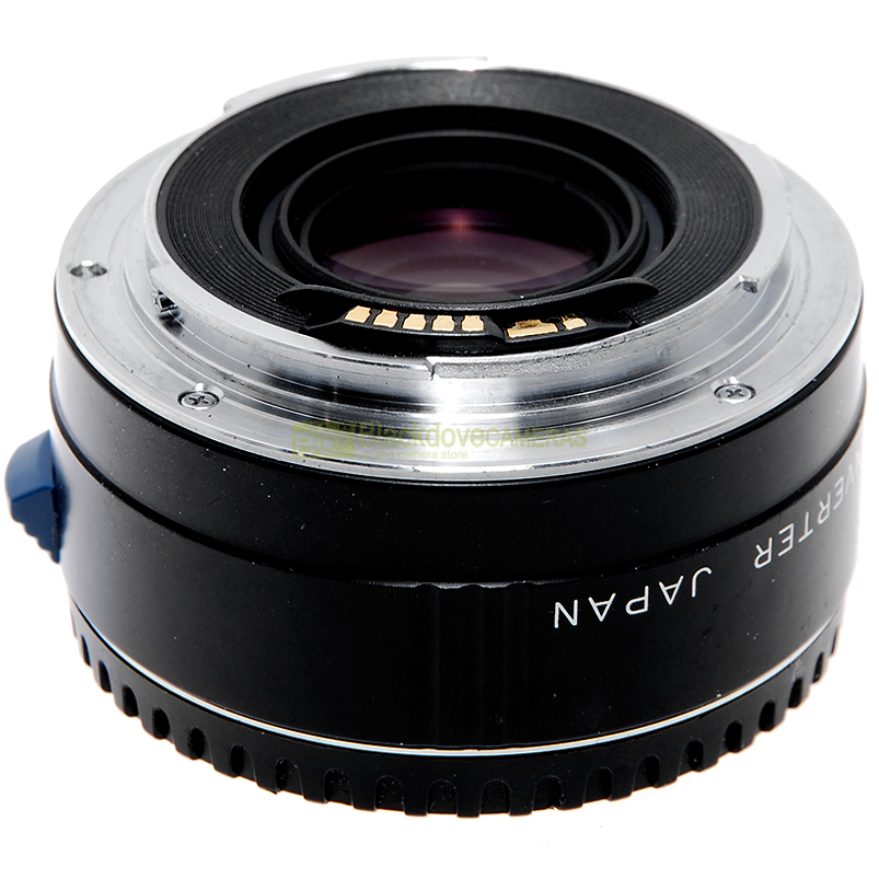 Moltiplicatore di focale 2x Quantaray Tele Converter per obiettivi Canon EOS EF
