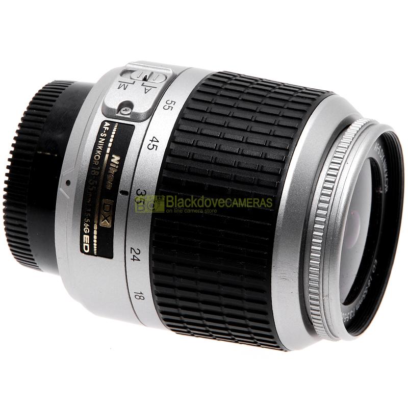 Nikon AF-S Nikkor 18/55mm f3,5-5,6 G DX Silver