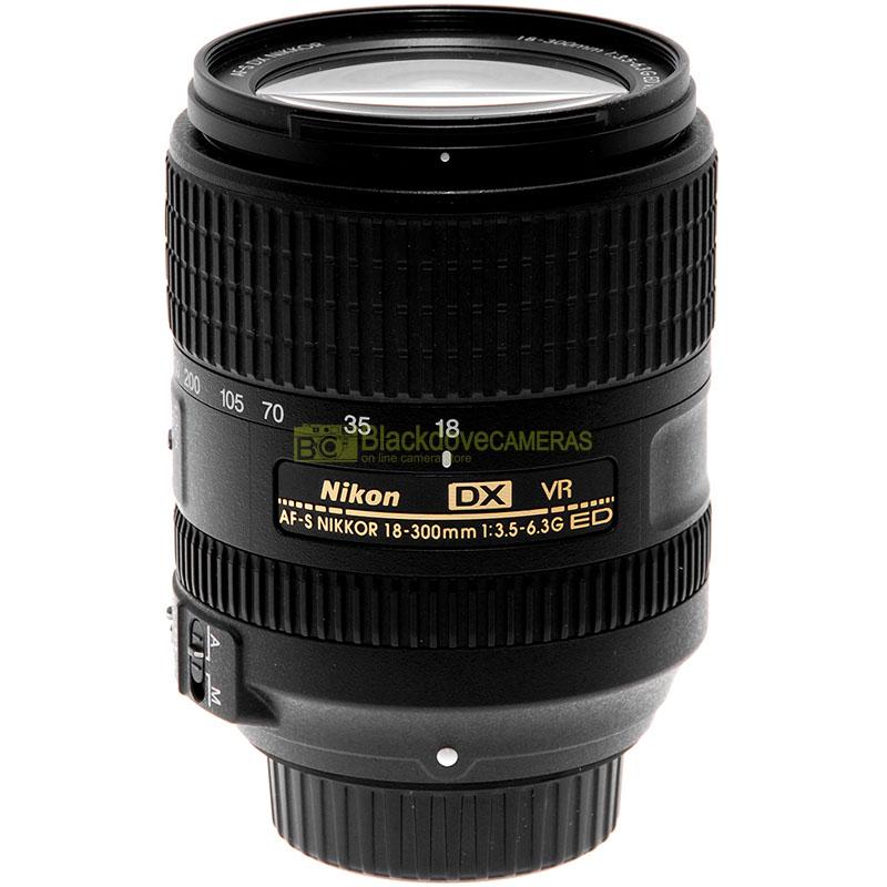 Nikon 18/300mm. f3.5-6.3 G ED VR DX