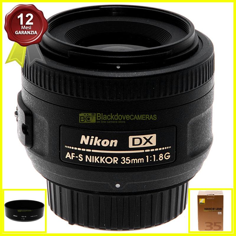 Nikon 35mm f1,8 G DX Obiettivo standard per fotocamere digitali Reflex APS