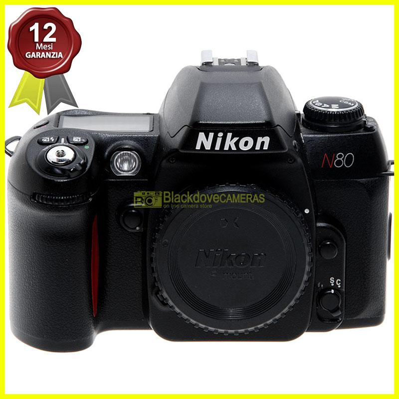 "Nikon >n80 body"" width=""30%""></p> <h3> Condizioni:</h3> <ul> <li>Condizioni meccaniche ed elettroniche: perfette</li> <li>Condizioni estetiche: ottime</li> </ul> <div vocab="