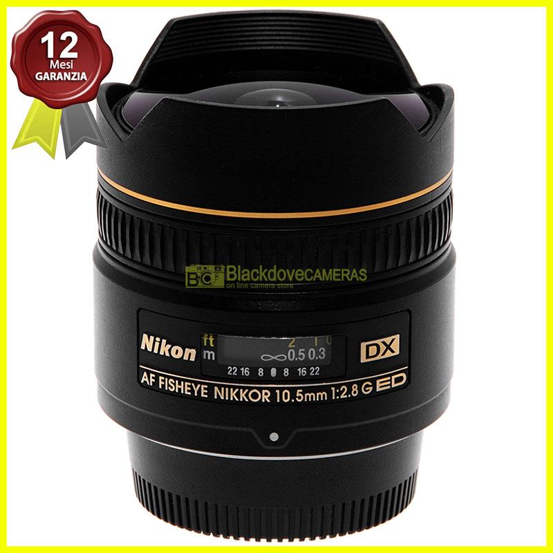 Nikon AF-S Nikkor 10,5mm f2,8 G ED DX obiettivo Fisheye per fotocamere digitali