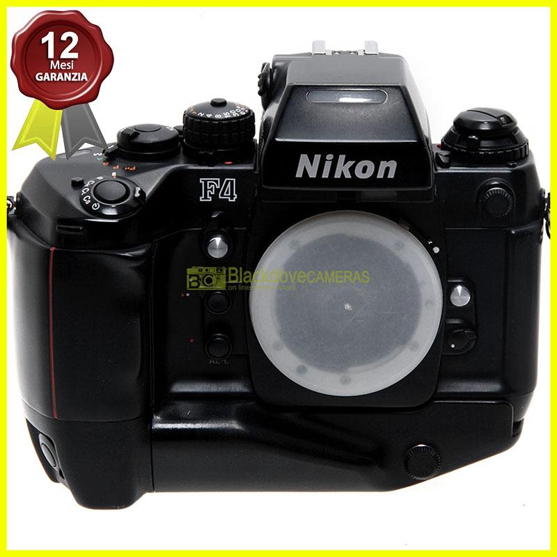 Nikon F4s fotocamera reflex autofocus a pellicola usata. F4 S body. Analogica