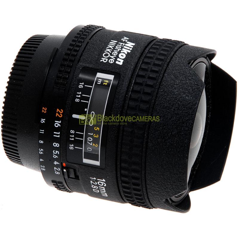 Nikon AF-D Fisheye Nikkor 16mm. f2,8