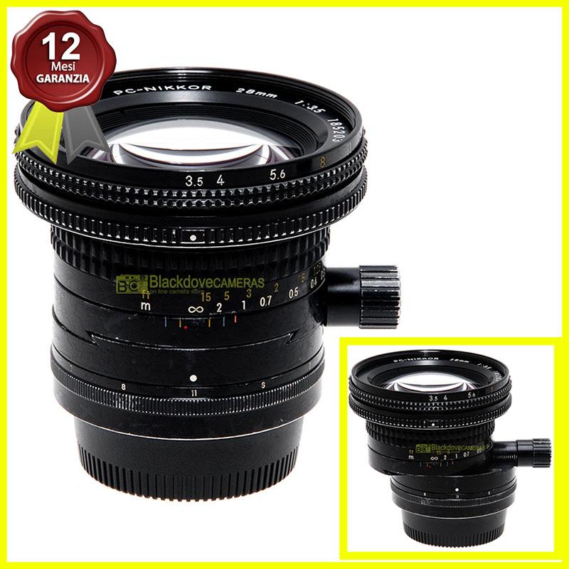 Nikon PC Nikkor 28mm f3,5 Perspective Control