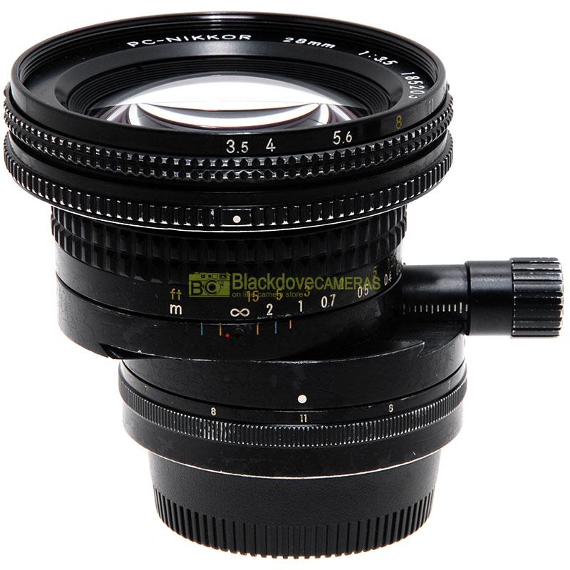 Nikon PC Nikkor 28mm f3,5