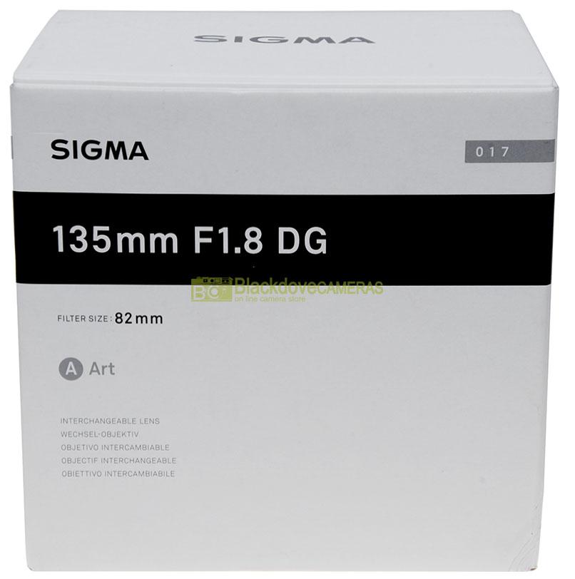Sigma 135mm f1,8 Art DG