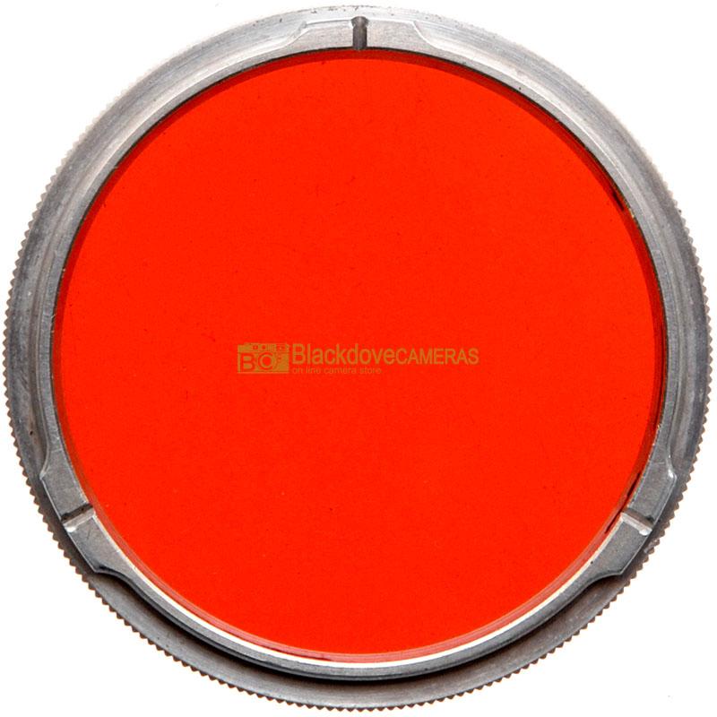 Filtro arancio scuro Rollei R2 per biottica Rolleiflex. Orange filter bay II.