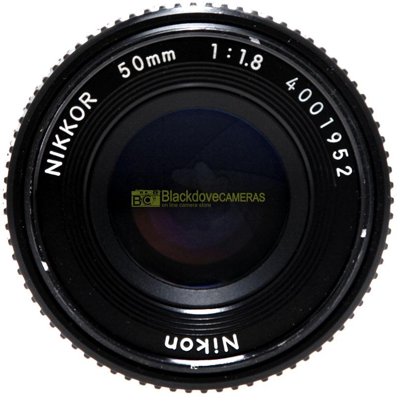 Obiettivo Nikon AI-S 50mm. f1,8 front