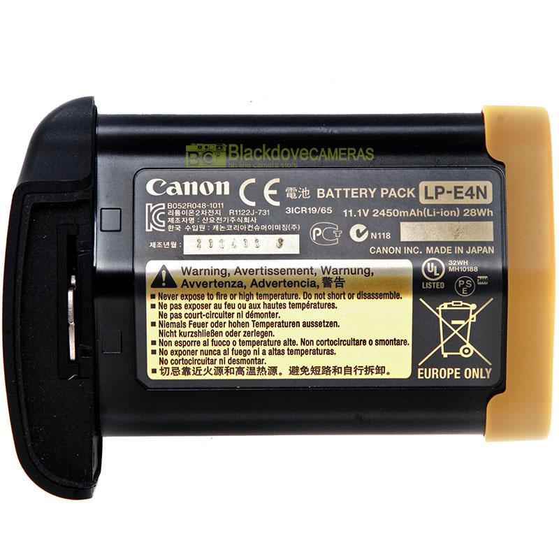 Canon LP-E4N batteria per 1D x 1Ds Mark III 1D Mark IV 1D Mark III. Originale!