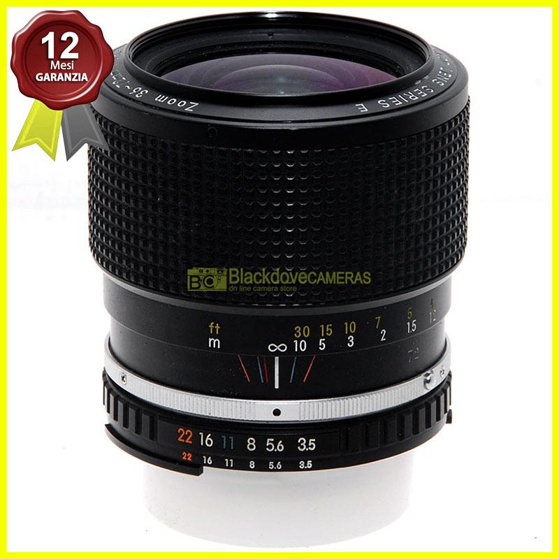 Nikon AI 36/72mm. f3,5 Obiettivo zoom per fotocamere reflex a pellicola. Usato.
