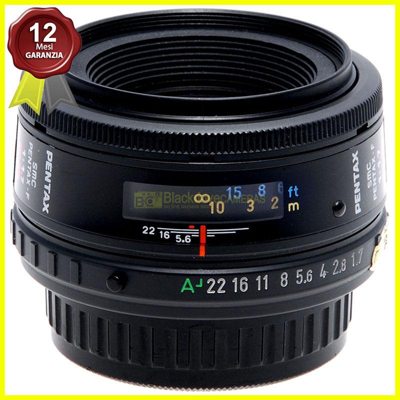 Pentax AF obiettivo SMC 50mm f1,7 F per fotocamere a pellicola e digitali