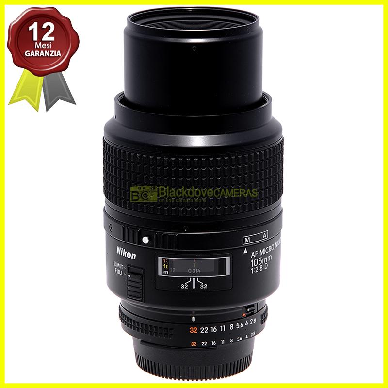 Nikon AF-D Micro Nikkor 105mm f2,8