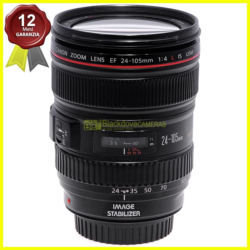 Canon EF 24/105mm. f4 L IS USM Obiettivo zoom stabilizzato per fotocamere EOS.