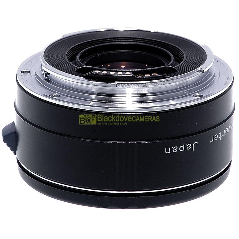 Moltiplicatore di focale 2x Cambron Tele Converter per obiettivi Canon EOS EF