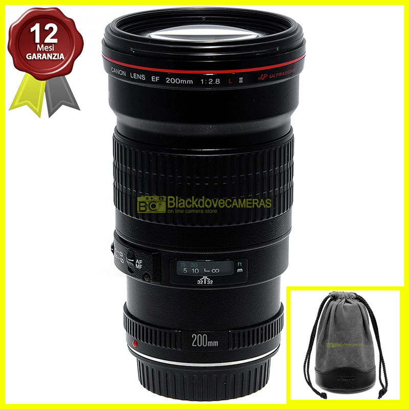 Canon EF 200mm f2,8L USM II