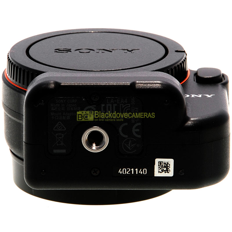 Sony LA-EA4 Adattatore AUTOFOCUS per obiettivi A-mount su fotocamere E-Mount/Nex
