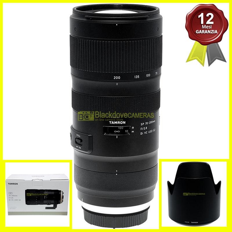 Tamron SP 70/200mm f2,8 Di VC USD G2 obiettivo per fotocamere Canon EOS (EF)