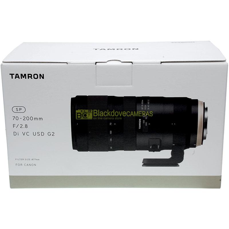 Tamron SP 70/200mm f2,8 Di VC USD G2