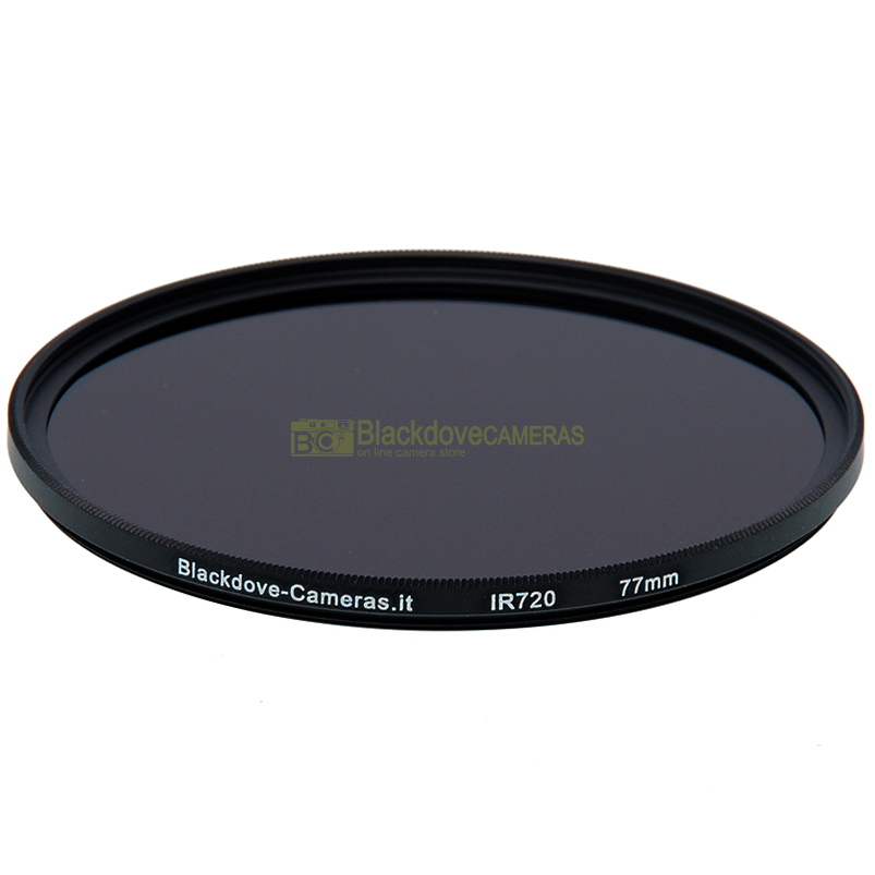 Filtro infrarosso 720nm 77mm Blackdove-cameras- Infrared filter 720 nm cut. IR