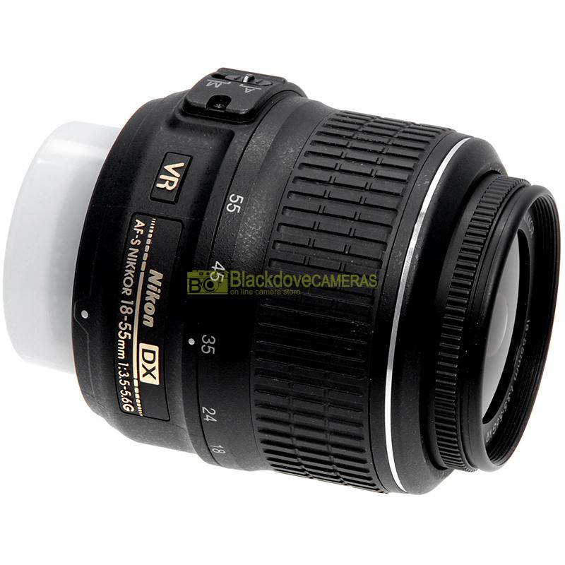Nikon AF-S Nikkor 18/55mm f3,5-5,6 G DX VR