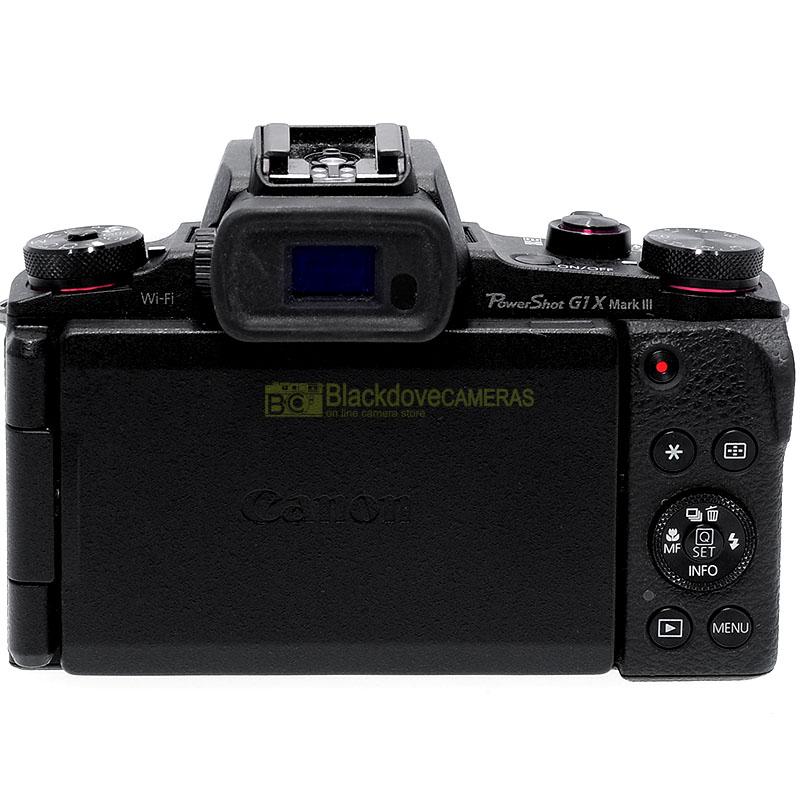 Fotocamera digitale Canon Powershot G1 X Mark III Black